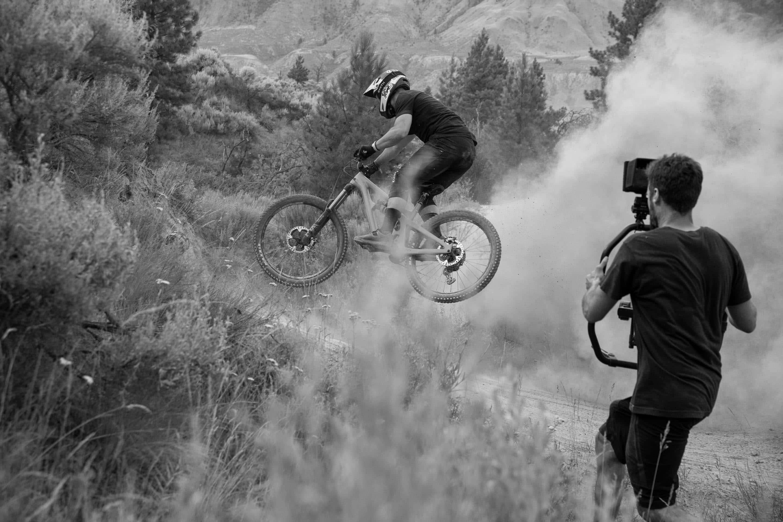 Richie Rude and Stu Dickson in Kamloops, British Columbia.